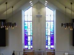 礼拝堂2Fから